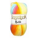 Příze PAPATYA BATIK - 554-12 žlutá, oranžová, fialová,...