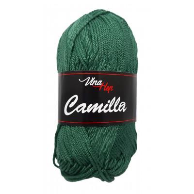 Příze CAMILLA - 8144 tmavě zelená