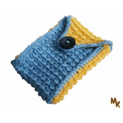 Žluto modrá kapsička