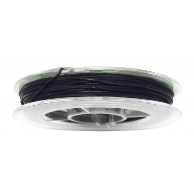 Vlákno silikonové 0,6 mm, 9 m - 04 černá