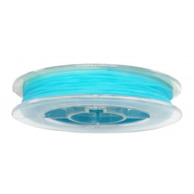 Vlákno silikonové 0,6 mm, 9 m - 05 světle modrá