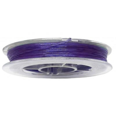 Vlákno silikonové 0,6 mm, 9 m - 10 tmavě modrá