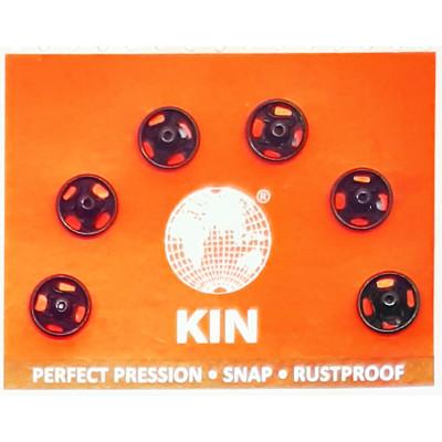 Knoflík stiskací KIN vel. 0 (6,5 mm) - 999 černá