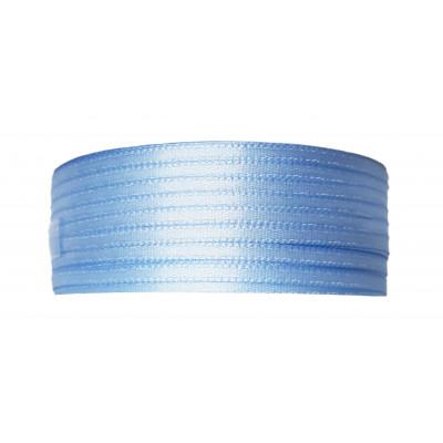 Stuha saténová 3 mm - 442 světle modrá