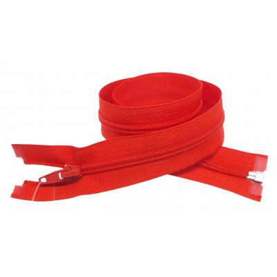 Spirálový zip šíře 6 mm, délka 60 cm - bundový - červneá