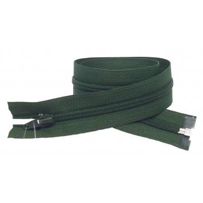 Spirálový zip šíře 6 mm, délka 60 cm - bundový - tmavě...