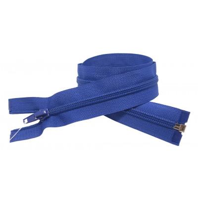 Spirálový zip šíře 6 mm, délka 60 cm - bundový - modrá