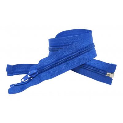 Spirálový zip šíře 5 mm, délka 50 cm - bundový - modrá