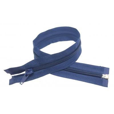 Spirálový zip šíře 5 mm, délka 40 cm - bundový - tmavě modrá