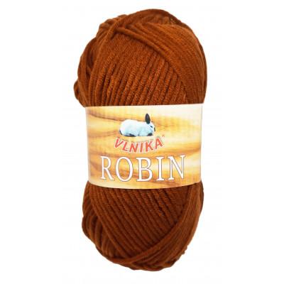 Příze ROBIN - 15 tmavě hnědá
