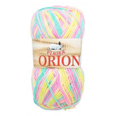 Příze ORION - 11 žlutá, růžová, zelená