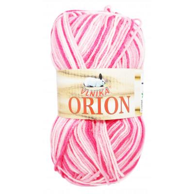 Příze ORION - 1 světle růžová, tmavě růžová