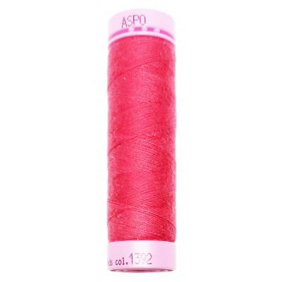 Polyesterová nit Aspo Amann - 100 m - 1392 purpurová