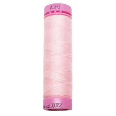 Polyesterová nit Aspo Amann - 100 m - 82 dětská růžová