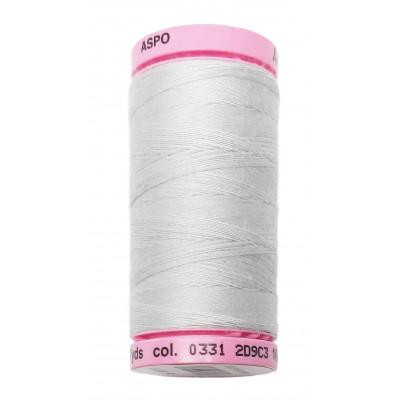 Polyesterová nit Aspo Amann - 500 m - 331 stříbrná