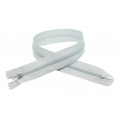Spirálový zip šíře 3 mm, délka 40 cm - pinlock - světle...