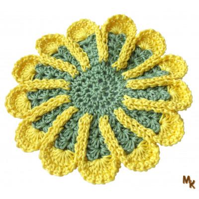 Podložka žlutozelená