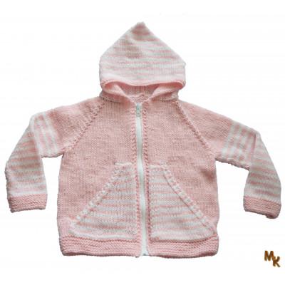 Dětský svetřík růžový