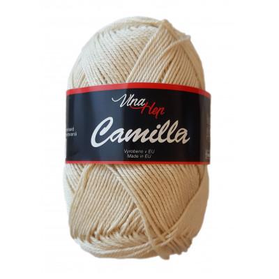 Příze CAMILLA - 8173 krémová přírodní