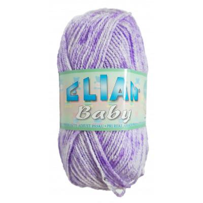 Příze ELIAN BABY - 31707 fialová