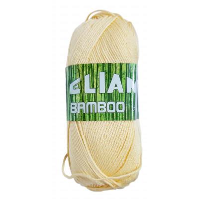 Příze ELIAN BAMBOO - 215 žlutá