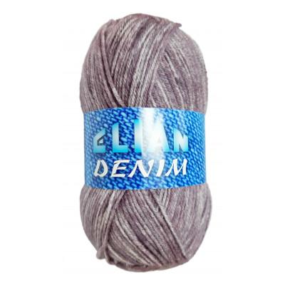 Příze ELIAN DENIM - 31675 fialová