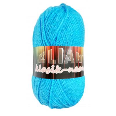 Příze ELIAN KLASIK NEON - 6905 modrá