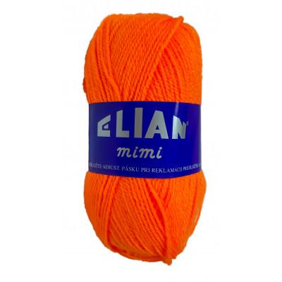 Příze ELIAN MIMI - 4566 oranžová neon