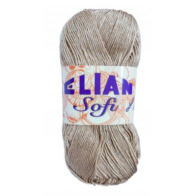 Příze ELIAN SOFI - 10125 hnědá