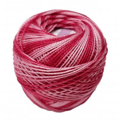 Příze PERLOVKA OMBRÉ - 33152 růžová+světlá růžová