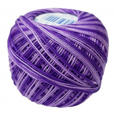 Příze SNĚHURKA OMBRÉ - 45272 tmavá fialová