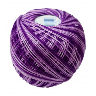 Příze SNĚHURKA OMBRÉ - 43272 středně fialová