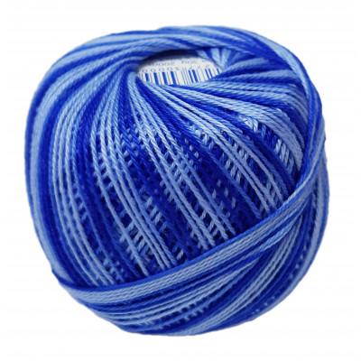 Příze SNĚHURKA OMBRÉ - 55382 modrá+světlá modrá