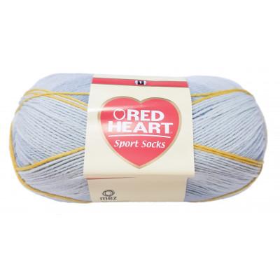 Náušnice srdce - fialový melír