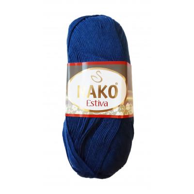 Příze NAKO ESTIVA - 6955 tmavá modrá