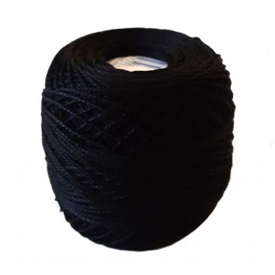 Příze PERLOVKA - 9992 černá